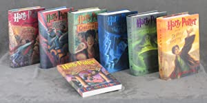 First American printings of all 7 HARRY: J. K. Rowling