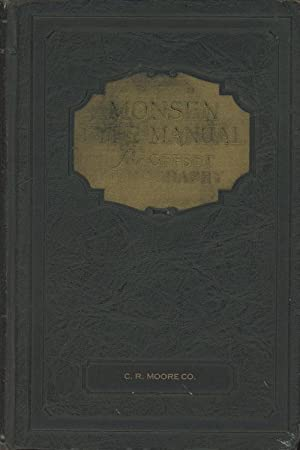The Monsen Type Manual: Lithographed on the: Myron T. Monsen