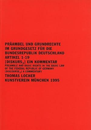 Praambel und Grundrechte im Grundgesetz fur die: Locher, Thomas; Christoph