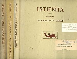 Isthmia,3 vols--Volume I: Temple of Poseidon, Volume: Broneer, Oscar