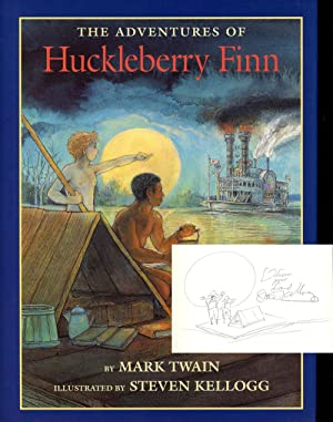 the life struggles portrayed in mark twains huckleberry finn The importance of the mississippi river in mark twain's the adventures of huckleberry finn follows the life of a it is portrayed not just a long and.