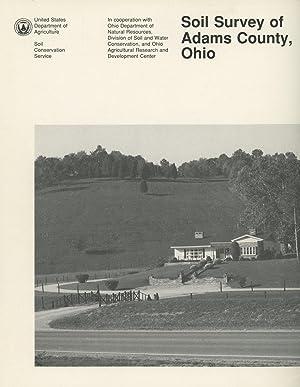 Soil Survey of Adams County, Ohio: Lucht, T.E.; D.L.