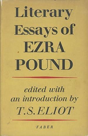 literary essays of ezra pound 1968 Literary essays of ezra pound paperback – january 17, 1968 by ezra pound (author).