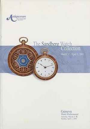 The Sandberg Watch Collection: To be Offered: Patrizzi, Osvaldo; Antiquorum