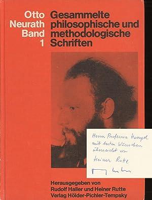 Gesammelte philosophische und methodologische Schriften, Band 1: Neurath, Otto; Rudolf