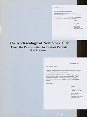 The Archaeology of New York City: From the Paleo-indian to Contact Periods