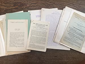 13 offprints or articles: 1) Classical Particle: Hanson, Norwood Russell