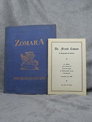 Zomara, a Romance of Spain: Cowan, Frank