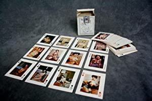 "Beautiful Girls on Pocket-Size Playing Cards"": A set of 50's nude playing cards: n/a"