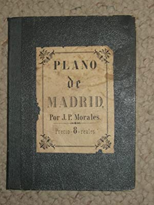 Plano de Madrid, 1866, fold-out map