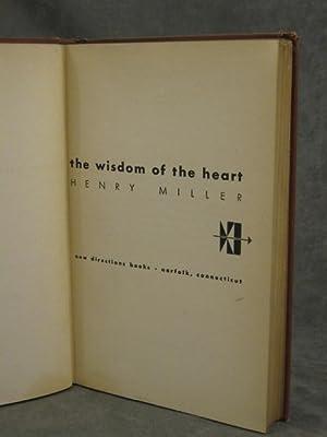The Wisdom of the Heart: Miller, Henry; (Alvin Lustig)