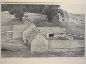 Hornsleasows Farm #1; in Memory of Mary: Francis Adams Comstock