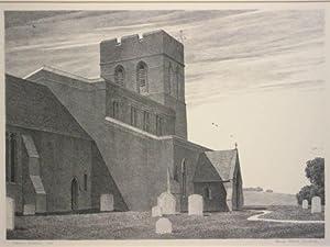 Culham, Berkshire. Original lithograph: Francis Adams Comstock