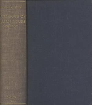 Short-title catalogue of books printed in Italy and Italian Books Printed in Other Countries from ...
