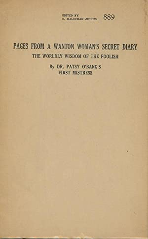 Pages from a Wanton Woman's Secret Diary - The Worldly Wisdom of the Foolish: Dr. Patsy ...