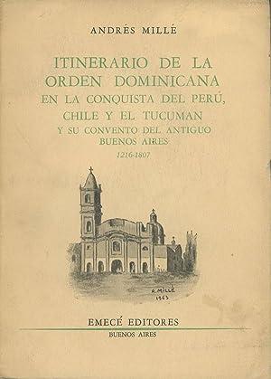 Itinerario de la Orden Dominicana en la: Mille, Andres