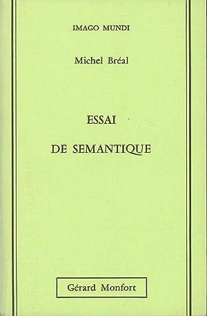 Essai de Semantique (Science des Significations); Imago: Breal, Michel