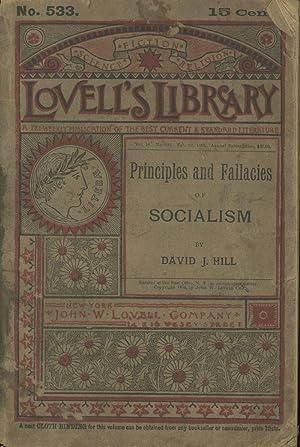 Principles and Fallacies of Socialism (Lovell's Library: Hill, David J.