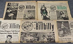 About 150 issues of The West Virginia Hillbilly, a weekly newspaper published in Richwood, West ...