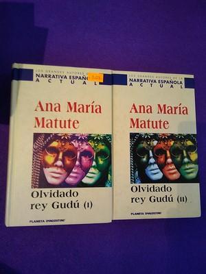 Olvidado rey Gudú (I) y (II): Ana María Matute