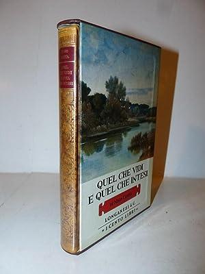 Cento Libri Longanesi - Nino Costa: Quel: NINO COSTA