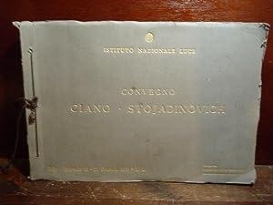 Album di FOTOGRAFIE dal CONVEGNO CIANO - STOJADINOVICH, Belgrado 19 - 22 Gennaio 1939 - XVII. ...