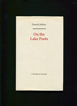 On the lake poets: Jeffrey, Francis Jeffrey, Lord