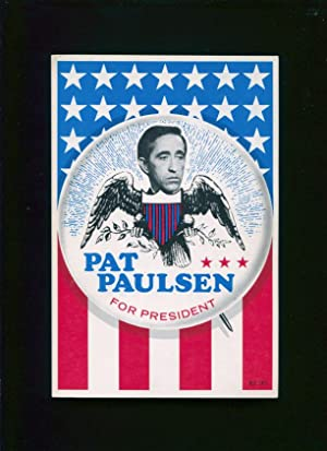 Pat Paulsen for president: Williams, Mason; Kragen, Jinx]