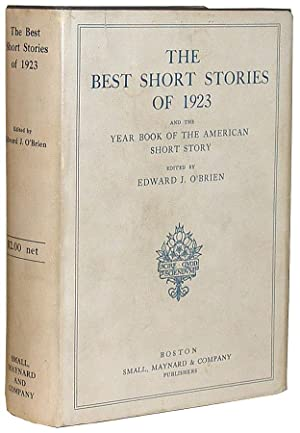 The Best Short Stories of 1923, and: Hemingway, Ernest]. O'Brien,