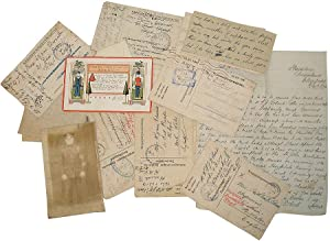 Collection of Letters from POW British Navy Soldier to Welsh Nurse