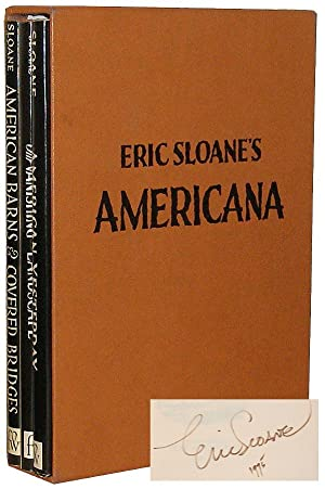 Eric Sloane's Americana: American Barns and Covered Bridges, Our Vanishing Landscape, and America...