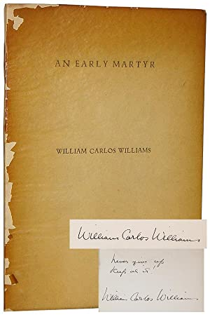 An Early Martyr and Other Poems