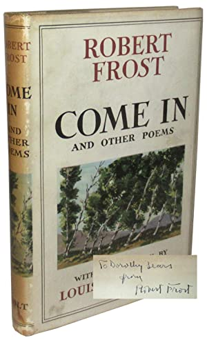 Come In, and Other Poems