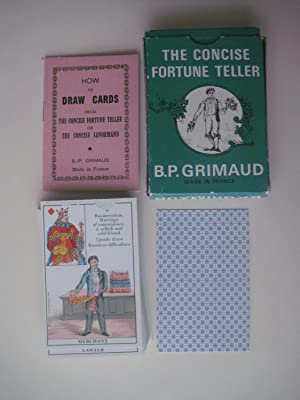 How To Draw Cards from the Concise Fortune Teller. Or the Concise Lenormand.