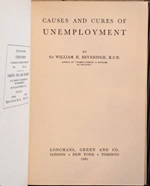 Causes and Cures of Unemployment