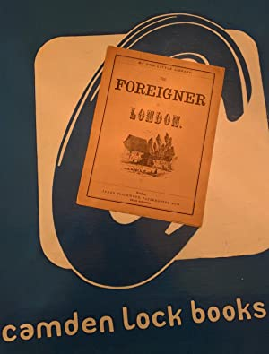 The Foreigner in London>>>>RARE COMIC BOOK OF FRENCHMAN IN WHITECHAPEL<<<<