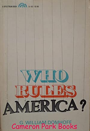 Who Rules America: G William Domhoff