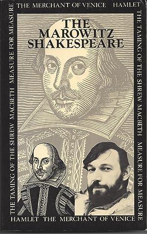 The Marowitz Shakespeare: The Merchant of Venice,: Marowitz, Charles