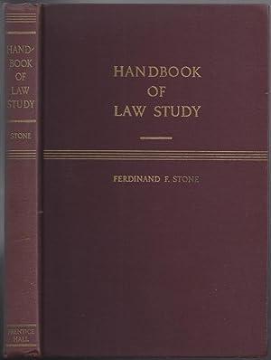 Handbook of Law Study: STONE, Ferdinand F.
