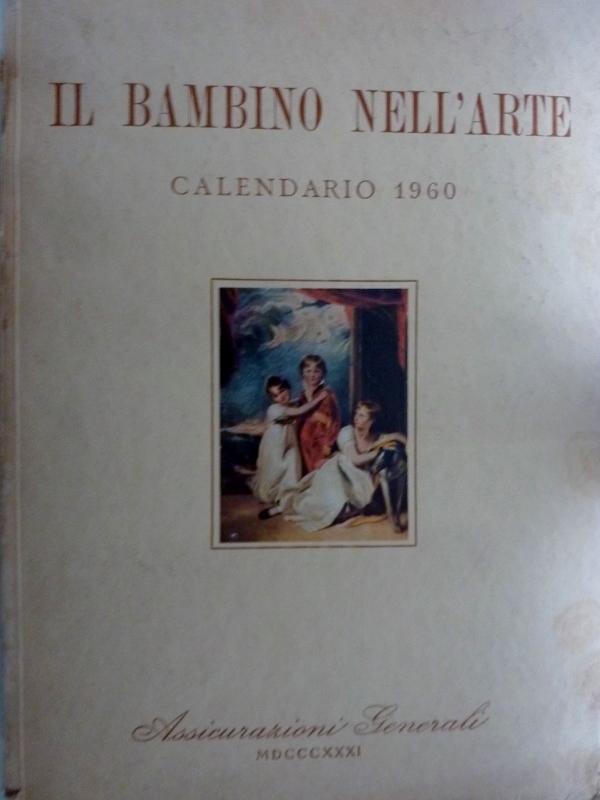 Calendario 1960.Il Bambino Nell Arte Calendario 1960