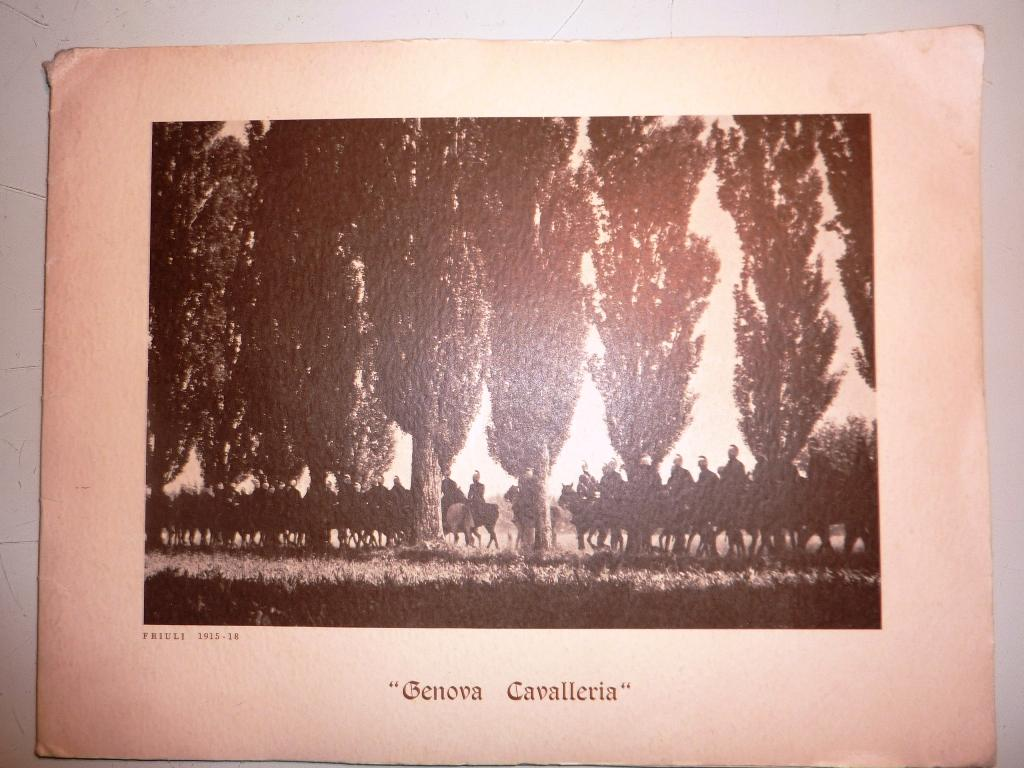 Calendario 1968.Calendario Genova Cavalleria 1968