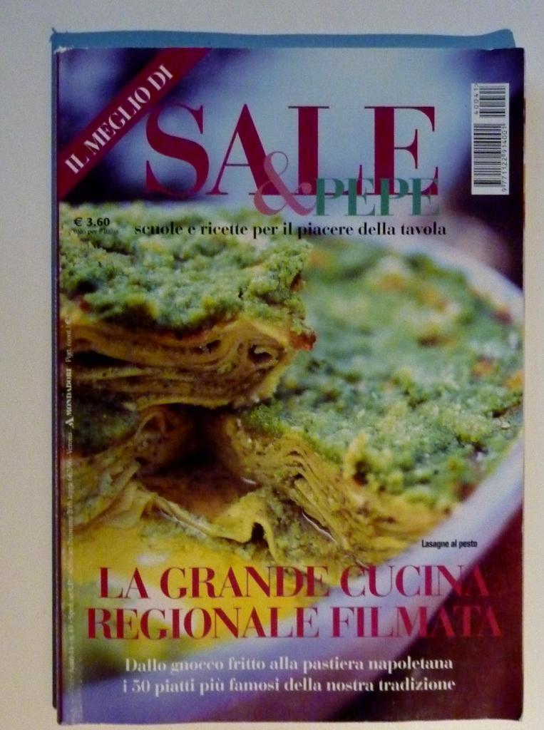 IL MEGLIO DI SALE E PEPE - La Grande Cucina Regionale Filmata\