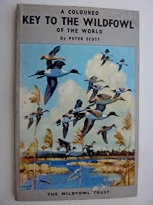 A COULORED KEY TO THE WILDFOWL OF: Peter Scott