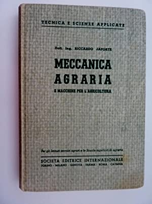 Collana Tecnica e Scienza Applicate - MECCANICA: Riccardo Jaforte