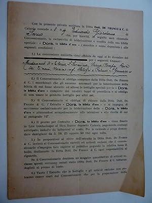 """Documento """"SCRITTURA PRIVATA DITTA Dott. DE FRANCO: AA.VV."""