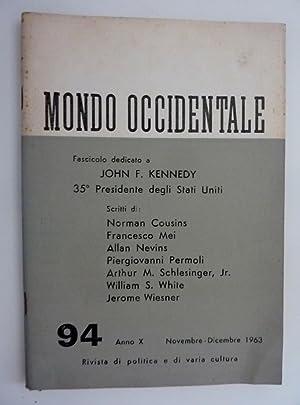 MONDO OCCIDENTALE Rivista di Politica di Varia: AA.VV.
