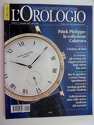 L'OROLOGIO DallaTecnica allo Stile Numero 1, Anno: AA.VV.