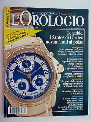 L'OROLOGIO DallaTecnica allo Stile Numero 24 Novembre: AA.VV.