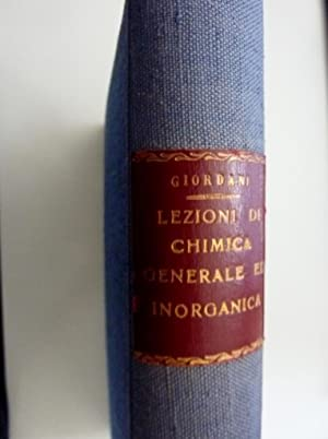 LEZIONI DI CHIMICA GENERALE ED INORGANICA. Terza: Francesco Giordani