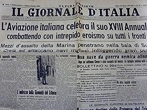 IL GIORNALE D'ITALIA Ultima Edizione Sabato 29: AA.VV.